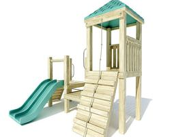 3D Children s Outdoor Play Set