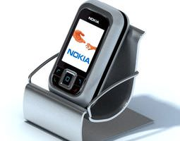 3D model Nokia Phone With Dock
