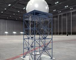 Dome Stairway Tower 3D