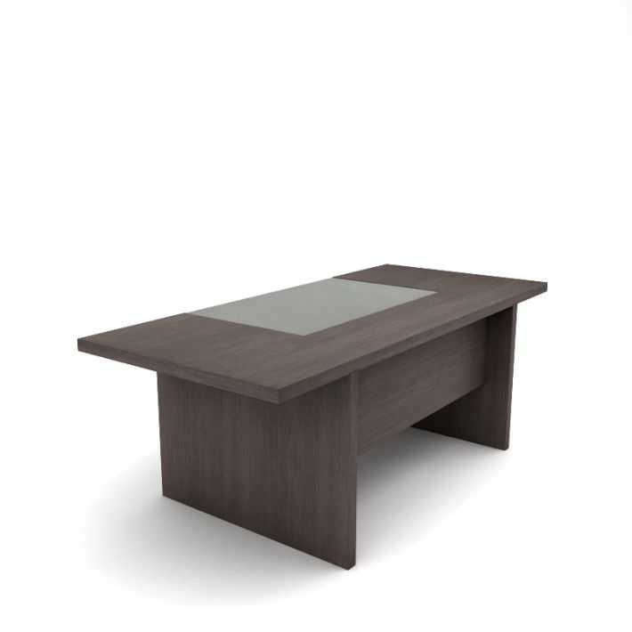 Minimalist Wood Office Desk 3D Model- CGTrader.com