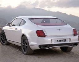 Bentley Car 3D Model