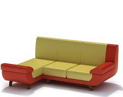 3D model Designer Retro Sofa