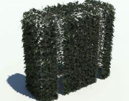 Green Hedge 3D Model