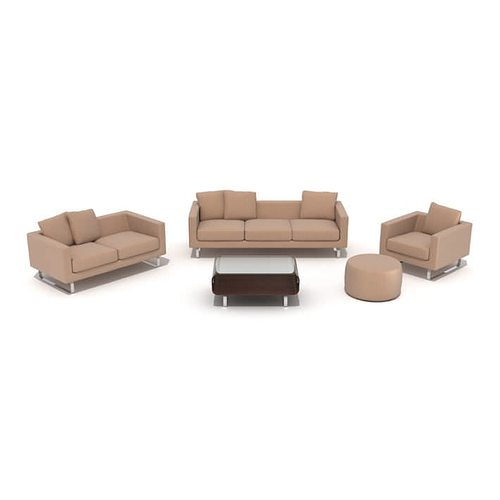 Living room furniture set 3d model obj for New model living room furniture