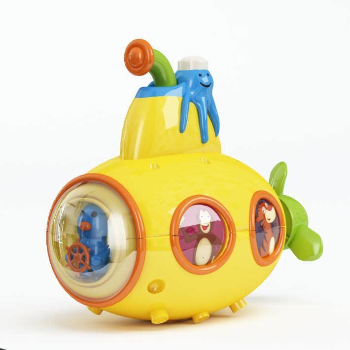 Yellow Aquatic Toddler Toy
