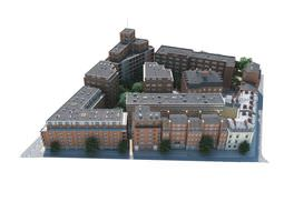 3D model Small City Block