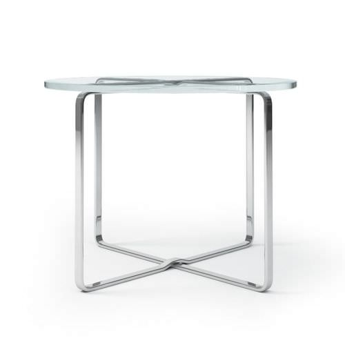 metal frame glass top table 3d model cgtrader