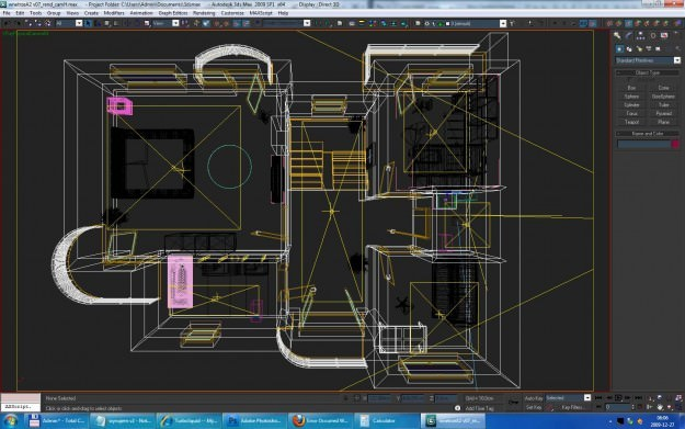 Home Interior Floor Plan 02 3D Model .max