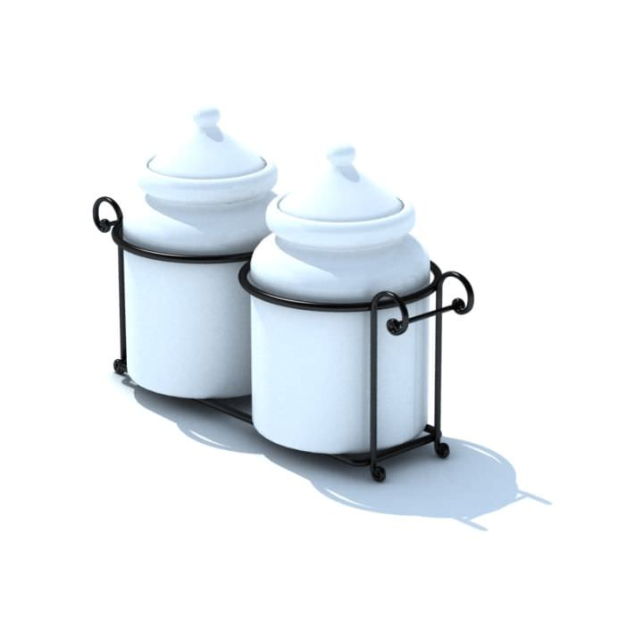 ceramic kitchen storage canisters in black 3d model black clay kitchen canister ceramic large by