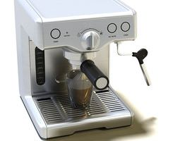 Compact Coffee Makers 3D