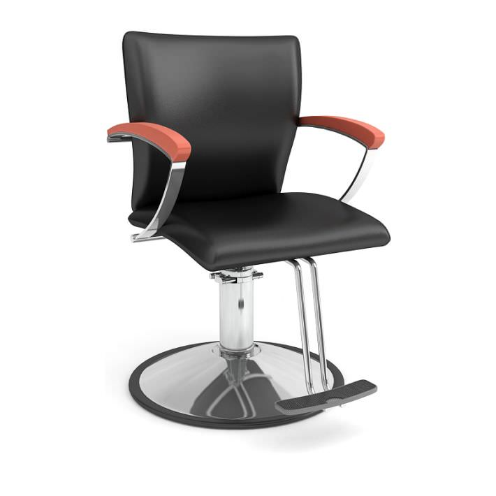 Black Beauty Parlor Chair 3D Model CGTrader