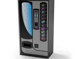 3D model Vending Machine Fururistic
