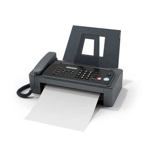 fax machine with phone