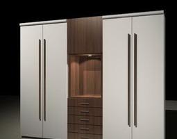 cabinet shelves Console 3D Models