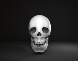 skull jaw 3D