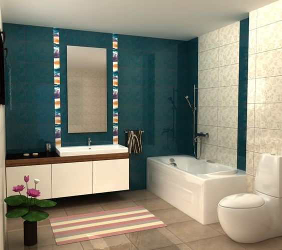 My bath design 3d model max obj 3ds mtl for New model bathroom design