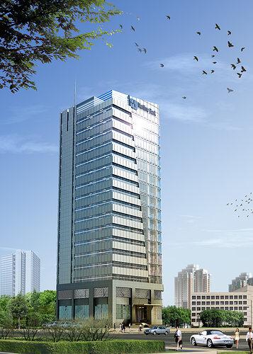 ... 3d models skyscraper bank building 3d model max obj mtl tga 2 ...