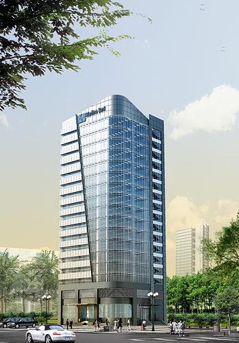3d models skyscraper bank building 3d model max obj mtl tga 1