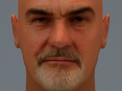 sean connery 3d cgtrader