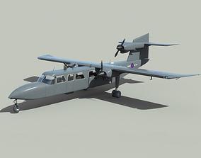 3D model Britten-Norman Trislander