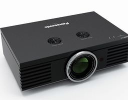Panasonic Digital Projector 3D Model