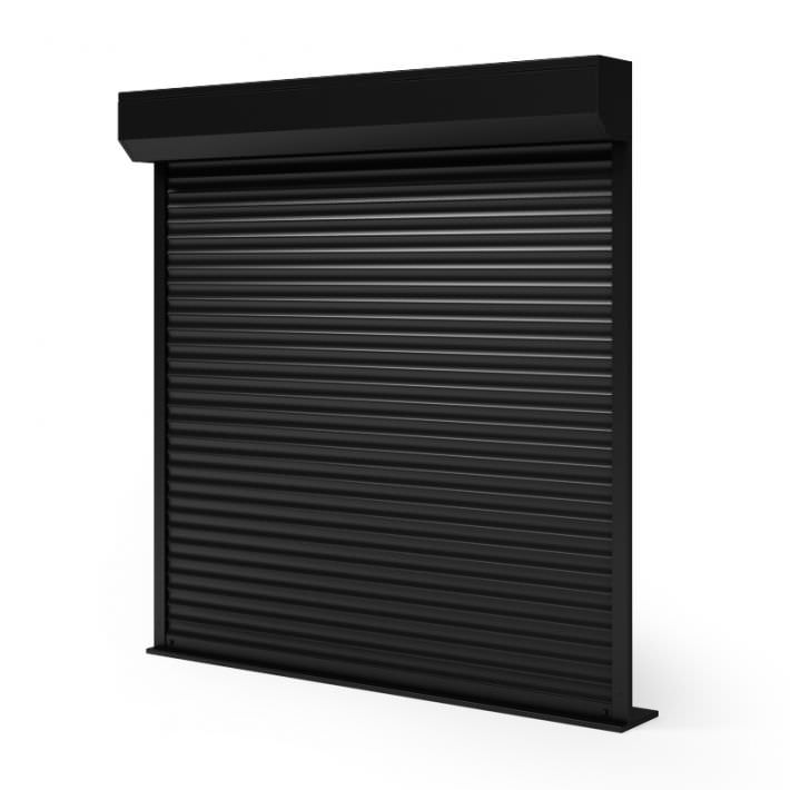 Black Roller Door 3d Model Cgtrader Com