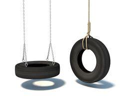 Swing Of Wheels Of Vechicle 3D Model