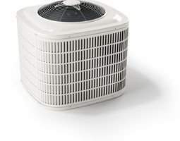 White Air Conditioner 3D