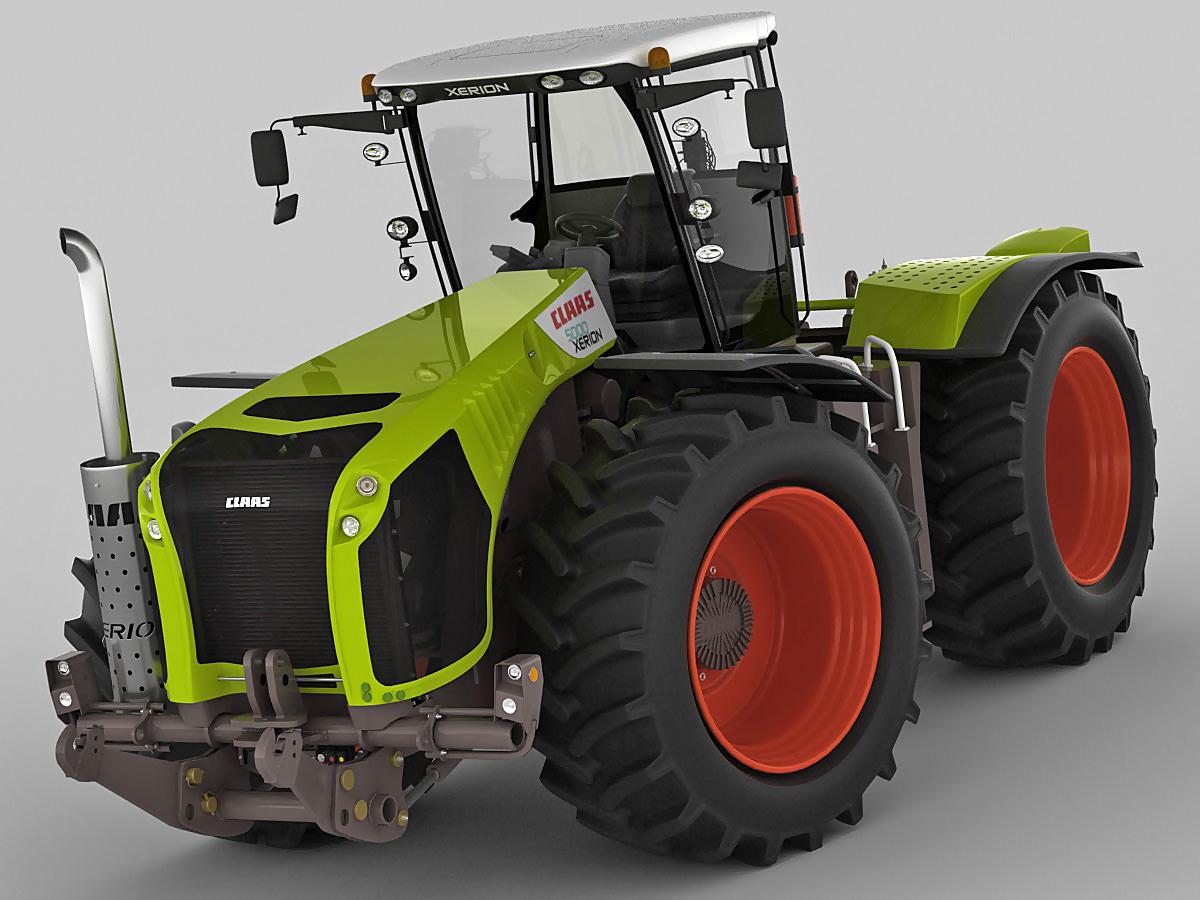 Außergewöhnlich 3D Claas Xerion Tractor | CGTrader #LP_37