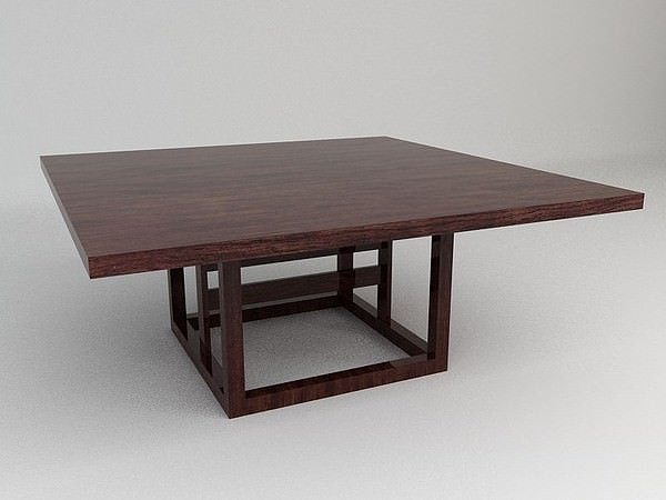 3d model dining table cgtrader for Dining table latest model