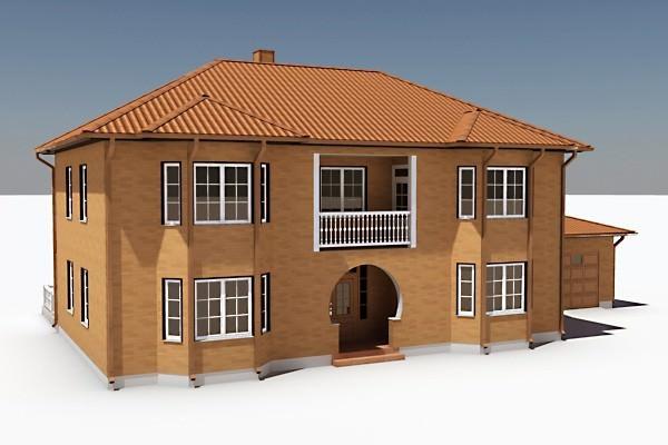 3d design house House 3d model