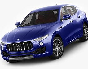 Maserati Levante 2017 3D