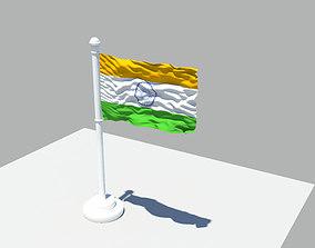 Indian flag 3D