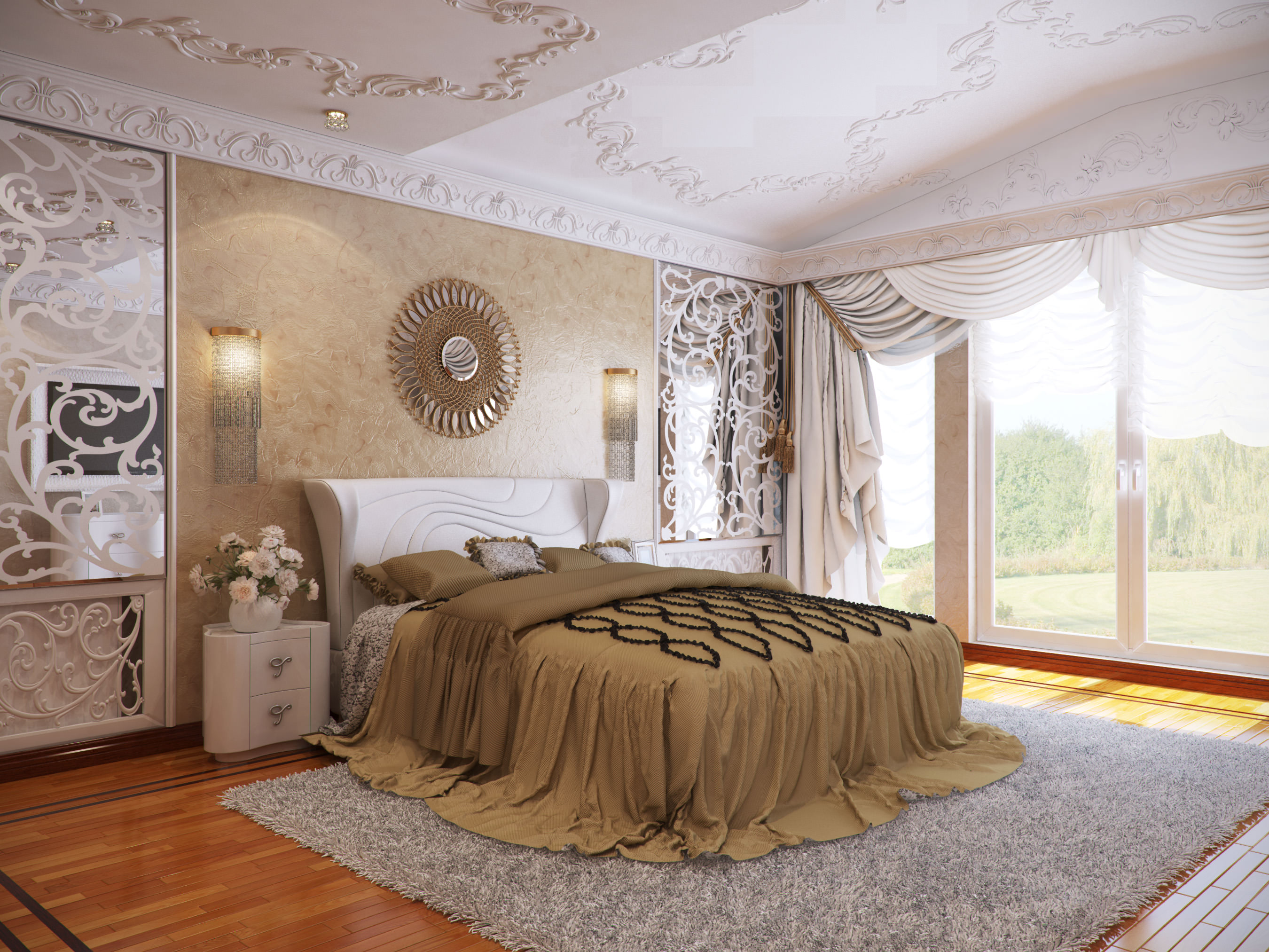 Interior master bedroom for How to make your bedroom awesome