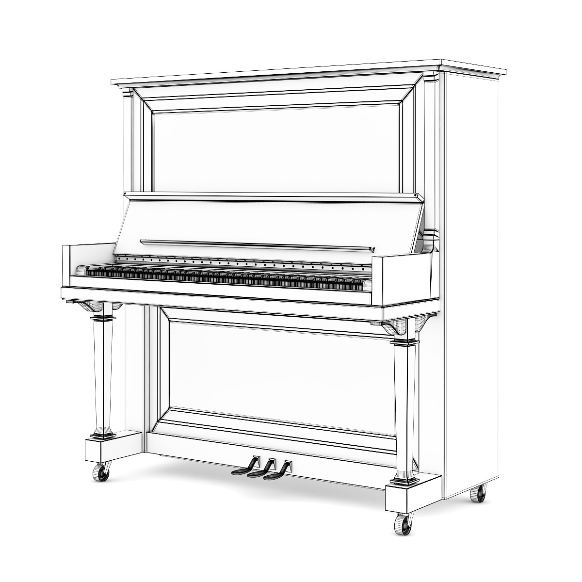 Upright Piano Dimensions   Piano Keys   Upright Piano CartoonUpright Piano Cartoon