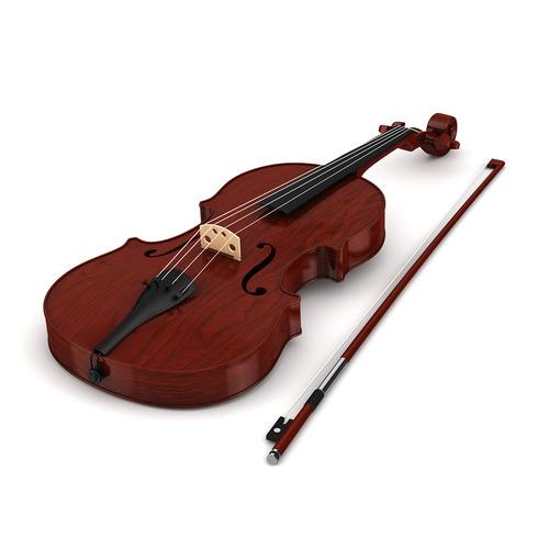 Violin3D model