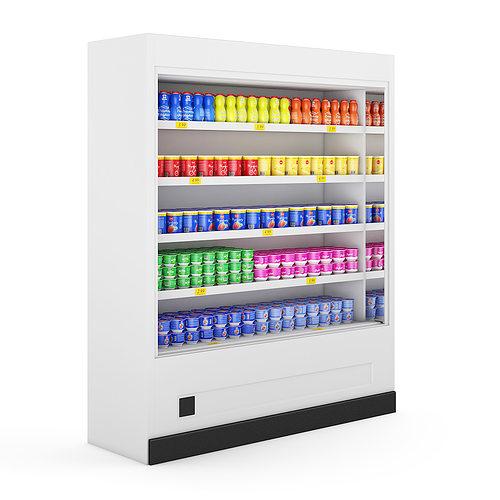 refrigerator 3d model max obj mtl fbx c4d 1