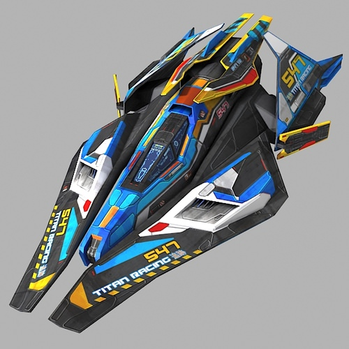 Space Racer Car Game