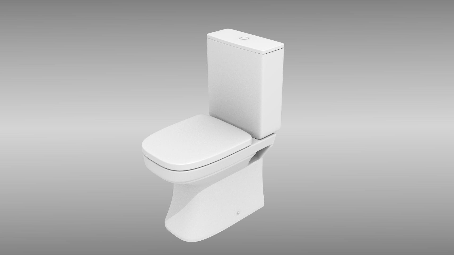 Toilet 3d Model Obj 3ds Fbx Stl Dae
