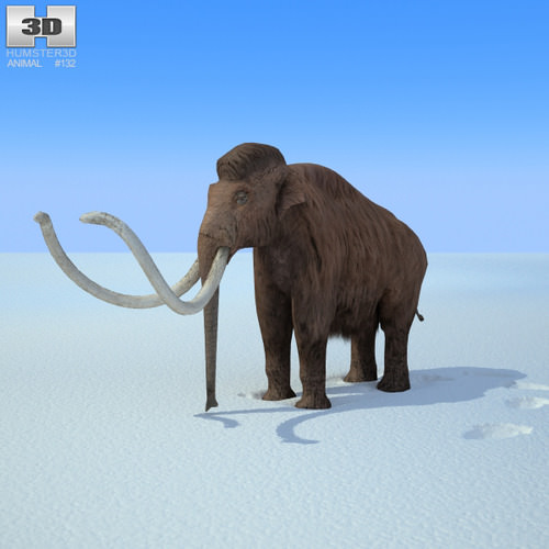 Mammoth Mammuthus3D model
