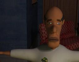 Mrbeady Uncle 3D Model