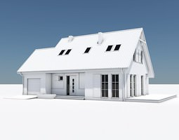 Traditional House 12 3D Model
