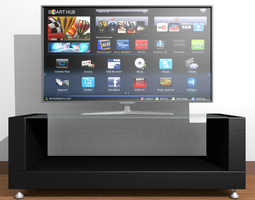 Samsung Smart Tv 3D Model
