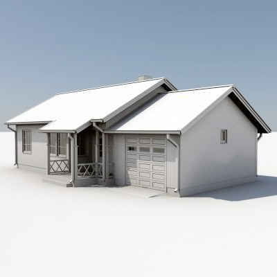 Ultimate House Pack 3D Model .max .obj .3ds .lwo .lw .lws