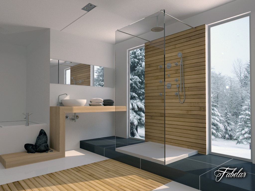 Model bathroom pictures -  Bathroom Collection 1 3d Model Max Obj 3ds C4d Dae 26