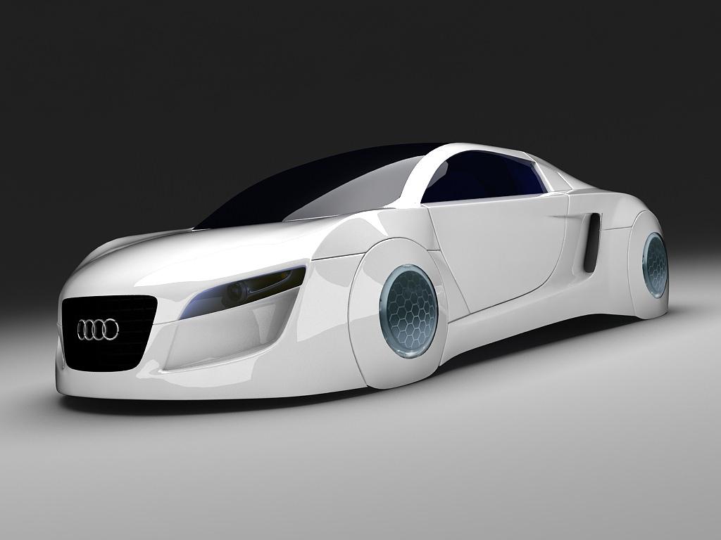 Audi RSQ D CGTrader - Audi car 3d