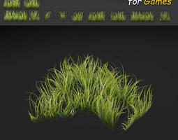 3D model Dense Grass Texture