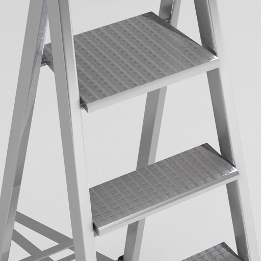 Step Ladder Free 3D Model .max