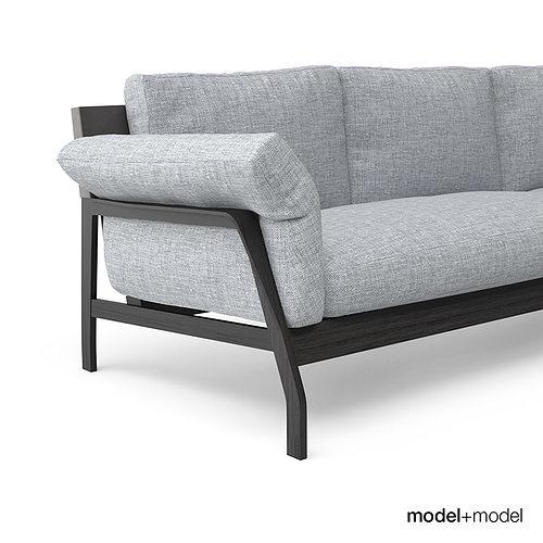 ... Cassina Eloro Sofas 3d Model Max Obj Fbx Mat 7 ...