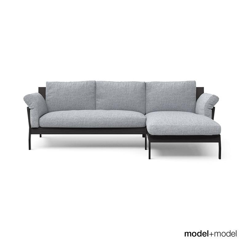 Cassina eloro sofas 3d model max obj fbx mat for Sofa 8 cassina